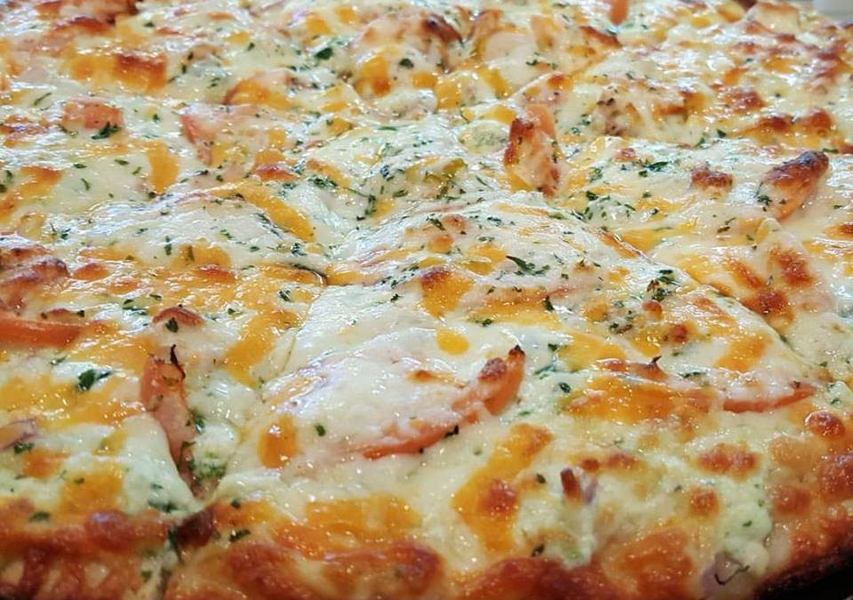 Spring Chicken Pizza