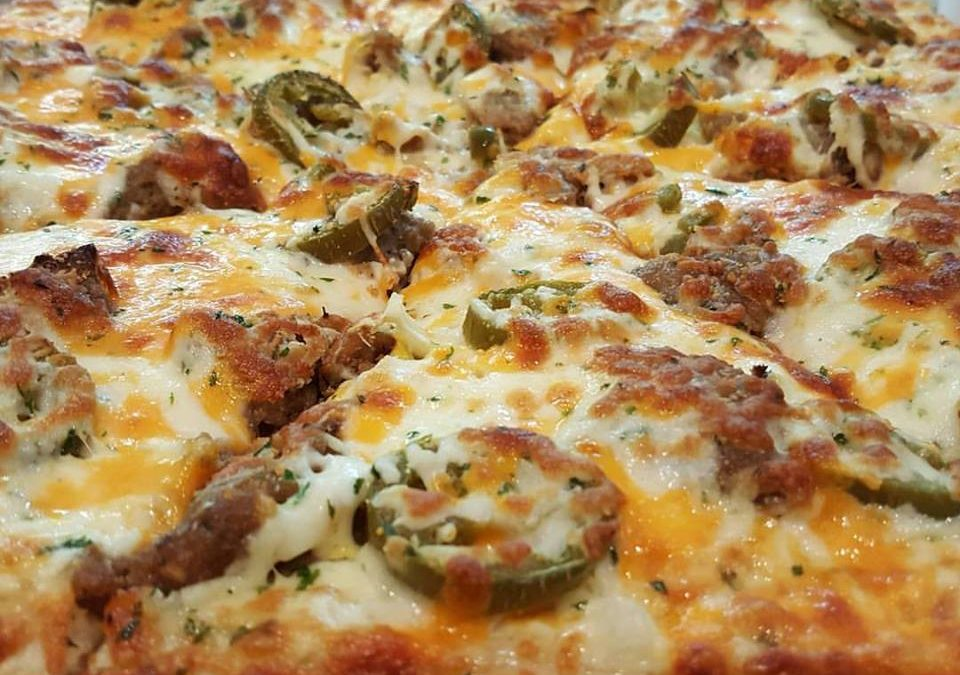 Sausage Roll Pizza Special