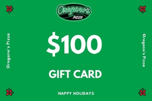 Oregano's Pizza Gift Cards